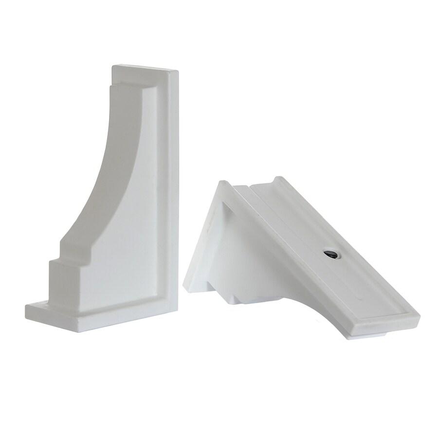Mayne 2-Pack 11-in Resin Window Box Brackets