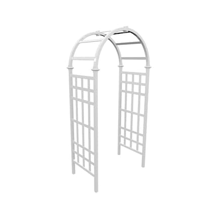 Incredible 39 Ft W X 81 Ft H White Garden Arbor Pdpeps Interior Chair Design Pdpepsorg