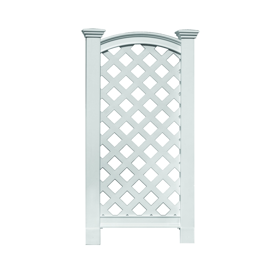 New England Arbors The Luxembourg 27 In W X 56 In H White/