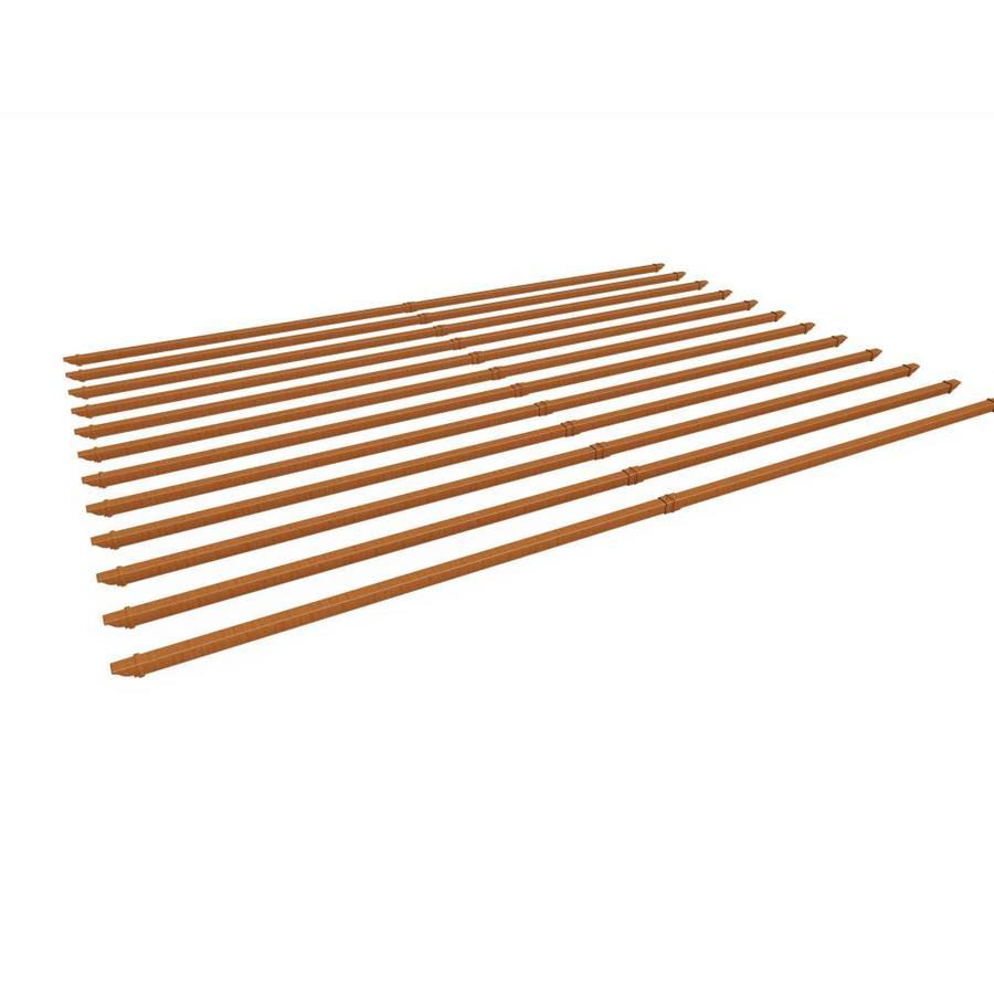 New England Arbors Brown/Cedar Pergola Shade Kit - New England Arbors Brown/Cedar Pergola Shade Kit At Lowes.com