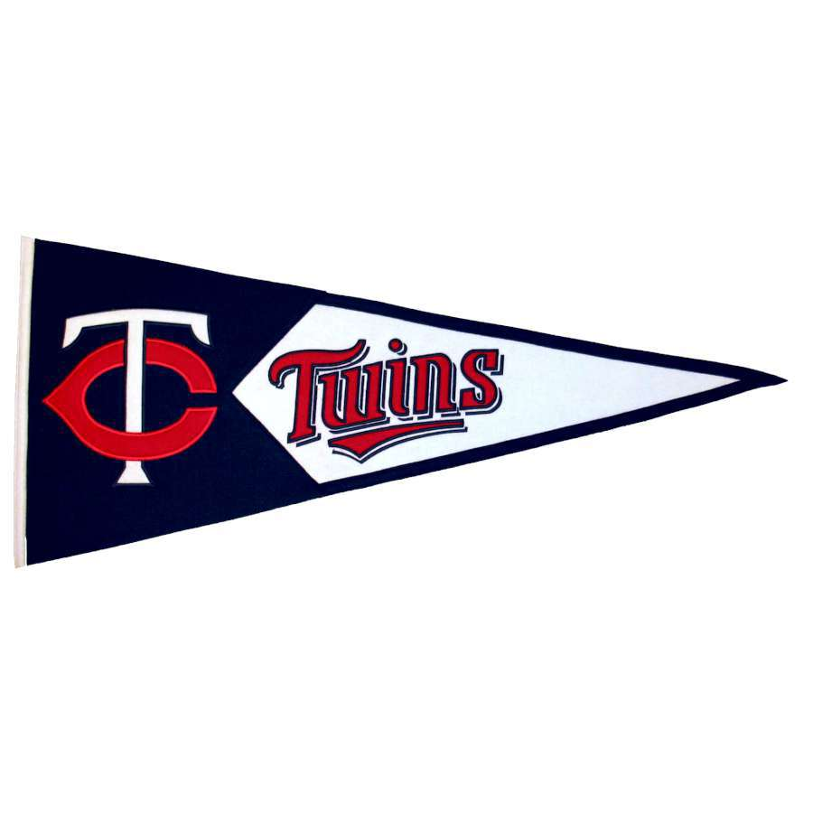 Winning Streak 41-in x 18-in Minnesota Twins Pennant