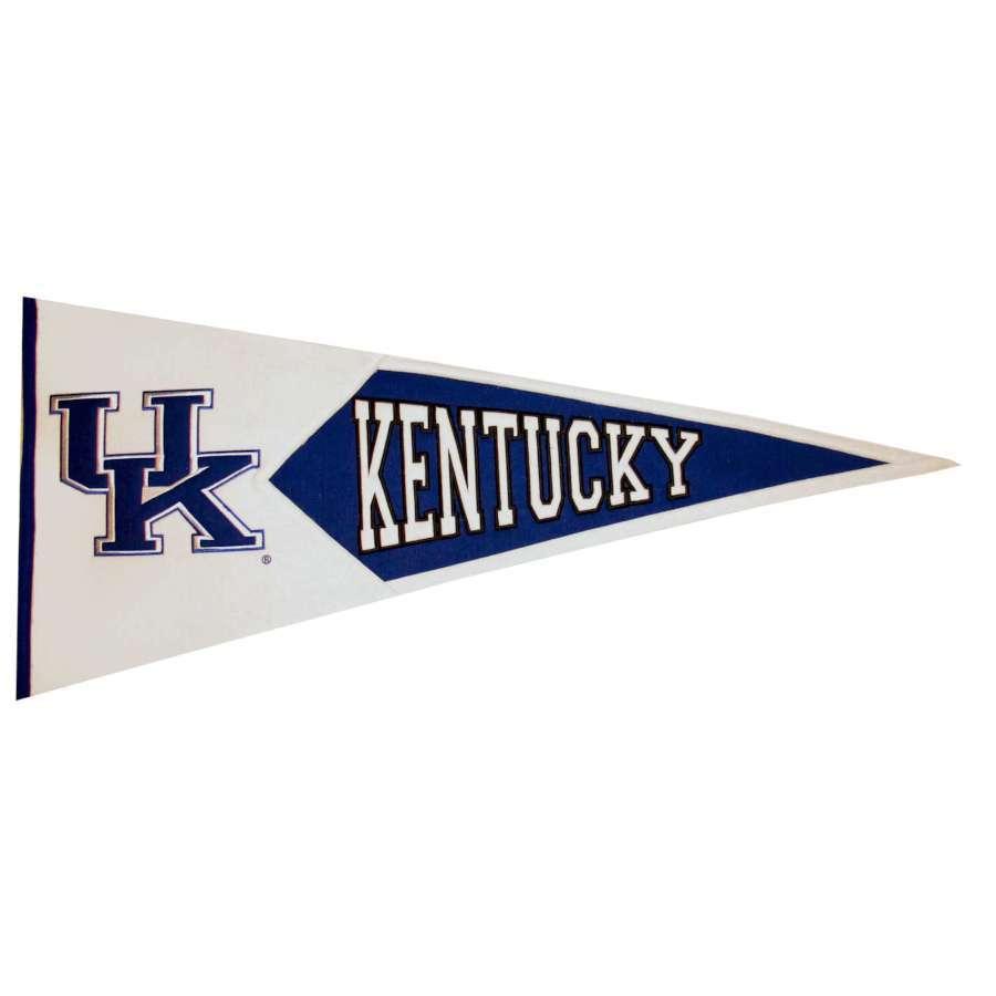 Winning Streak 41-in x 18-in Kentucky Wildcats Pennant