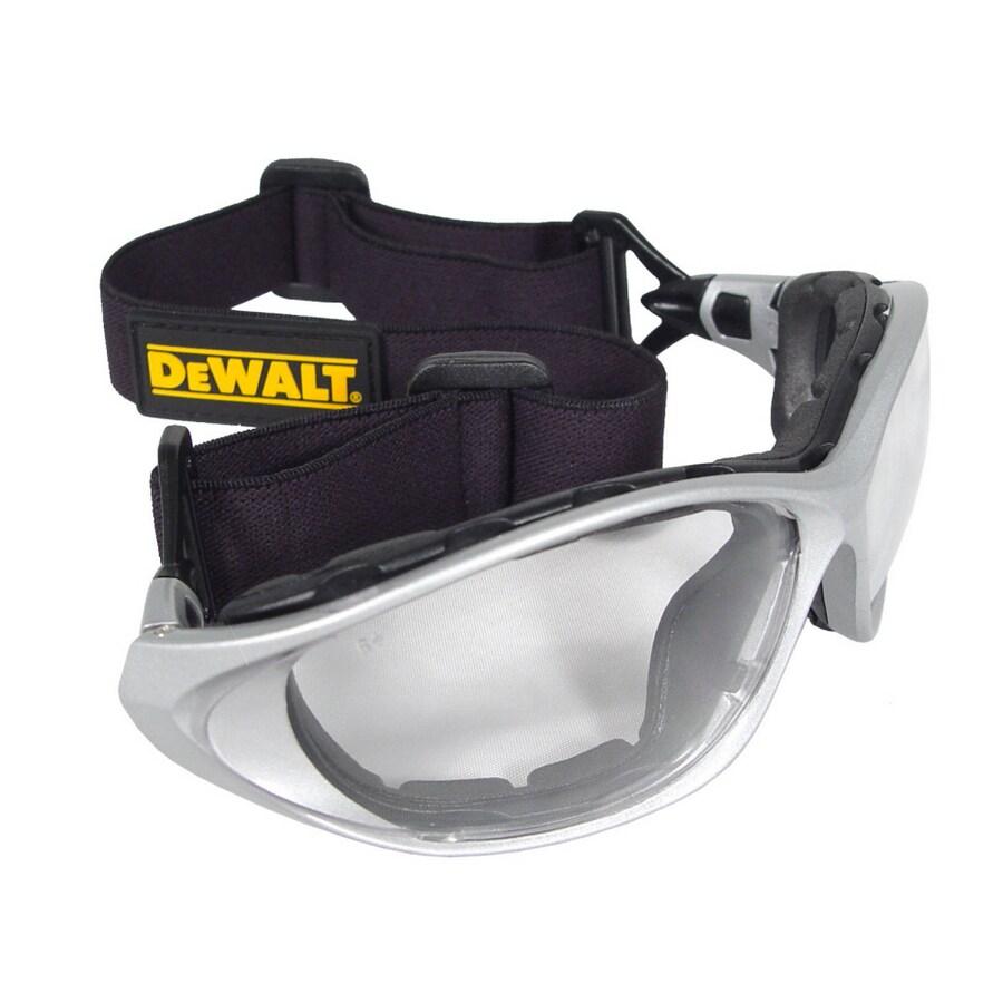 DEWALT Silver Plastic Framework Safety Glasses