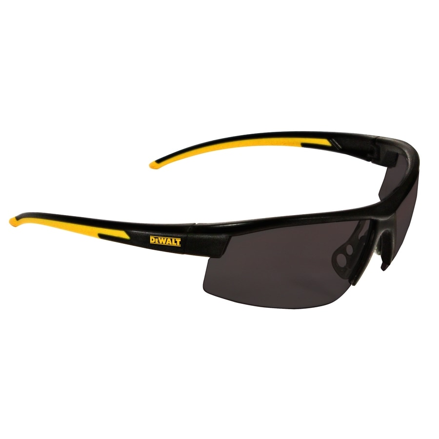 Polarized Sunglasses Definition  dewalt smoke lens high definition polarized safety glasses at