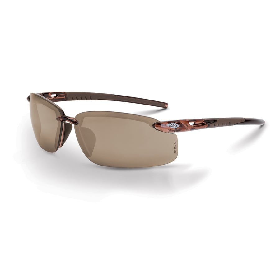 CrossFire Fortitude Crystal Brown Frame HD Brown Flash Mirror Lens