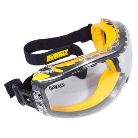 c27bdf1b24c8 DEWALT Concealer Plastic Anti-Fog Safety Goggles