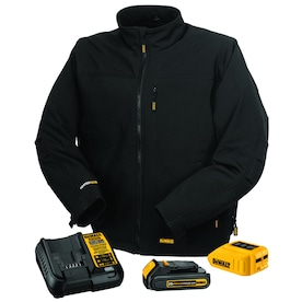 DEWALT Heated Soft Shell Jacket with Battery (2X)