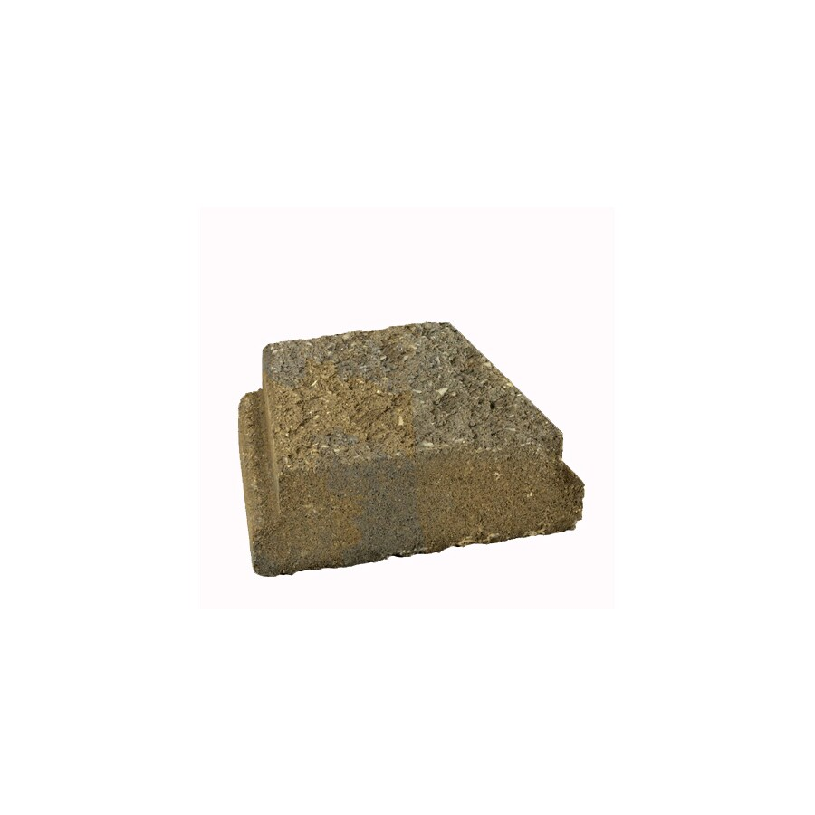 Tan Brown Edging Stone (Common 9-in x 5-in; Actual: 8.7-in x 5-in)
