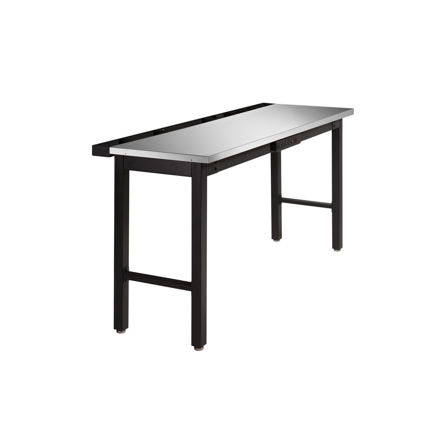 Shop Newage Products 72 In W X 36 In H Steel Work Bench At
