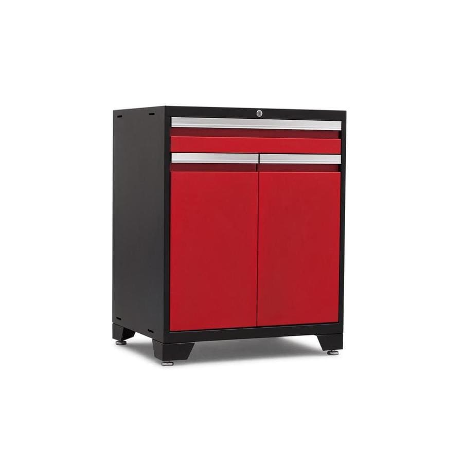NewAge Products Pro 3 28-in W x 37-in H x 22-in D Steel Freestanding Or Wall-mount Garage Cabinet