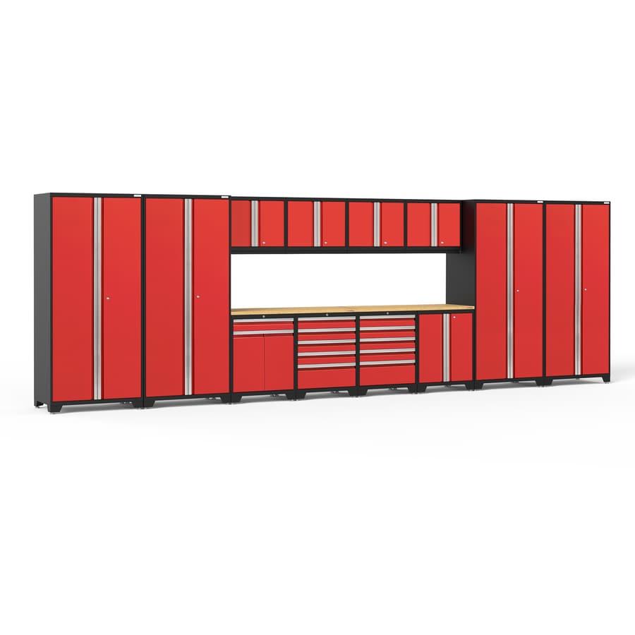 NewAge Products Pro 3 256-in W x 85-in H Steel Garage Storage System