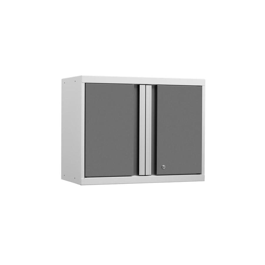 NewAge Products Pro 3 28-in W x 23.5-in H x 14-in D Steel Wall-mount Garage Cabinet