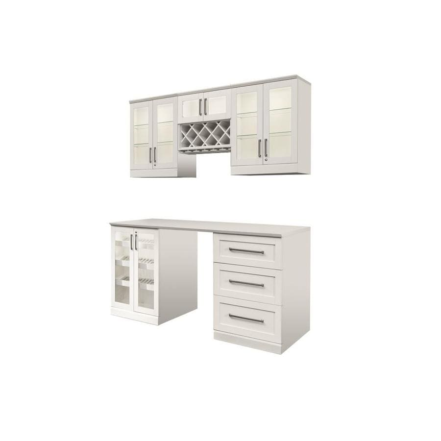 Superior NewAge Products Home Bar 72 In X 85 In Rectangle Cabinet Bar