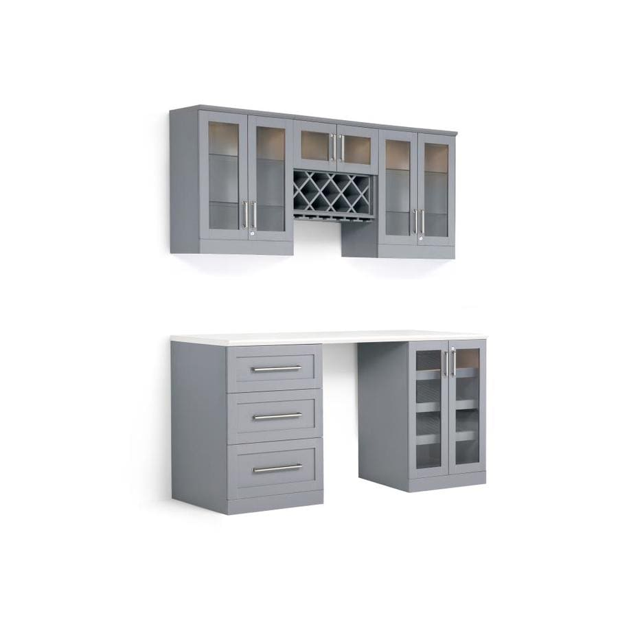 Newage Products Home Bar 72 In X 85 Rectangle Cabinet