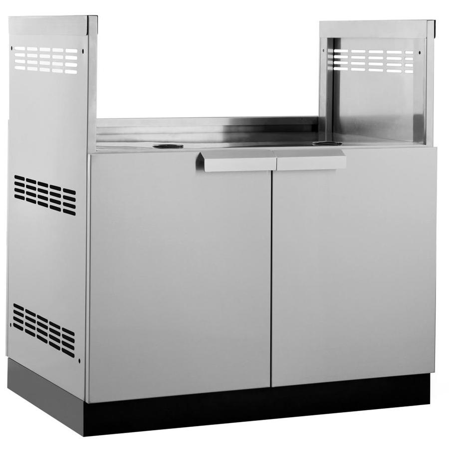 NewAge Products Outdoor Kitchen Classic Stainless Steel 33-inW x 23-inD Insert Grill