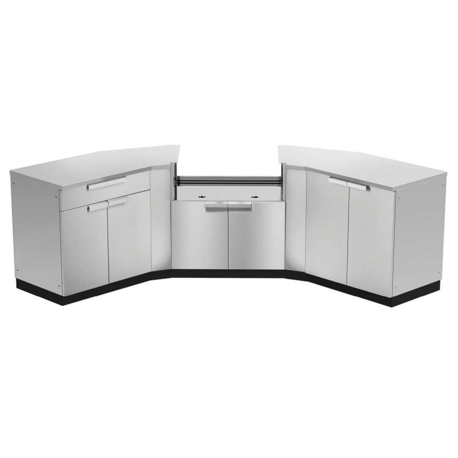 Lowes Outdoor Kitchens: NewAge Products Modular Outdoor Kitchen Prep Station At