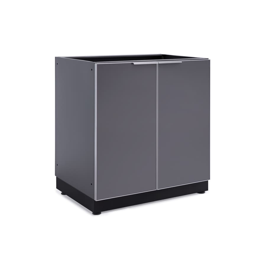 NewAge Products Outdoor Kitchen Aluminum Alloy 32-inW x 23-inD 2-Door Cabinet Aluminum Alloy