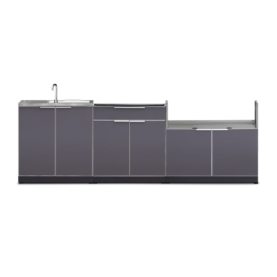 Lowes Outdoor Kitchens: Shop NewAge Products Outdoor Kitchen Aluminum Alloy 154