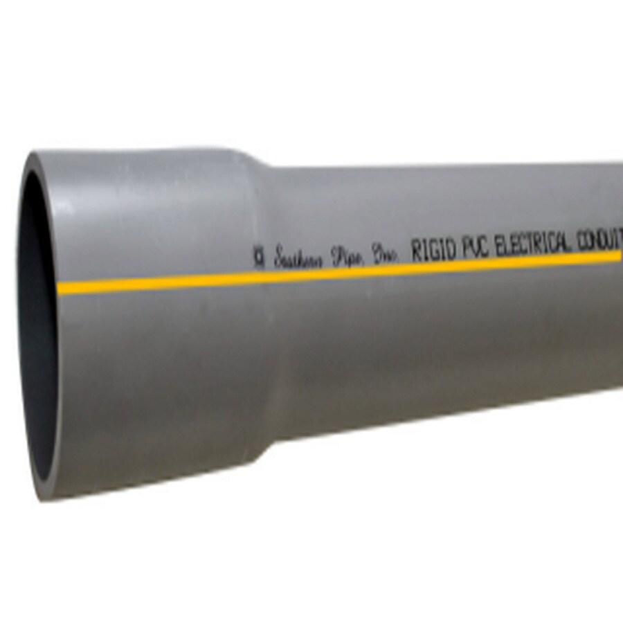 Southern Pipe PVC 10-ft Conduit (Common: 1/2-in; Actual: .84-in)