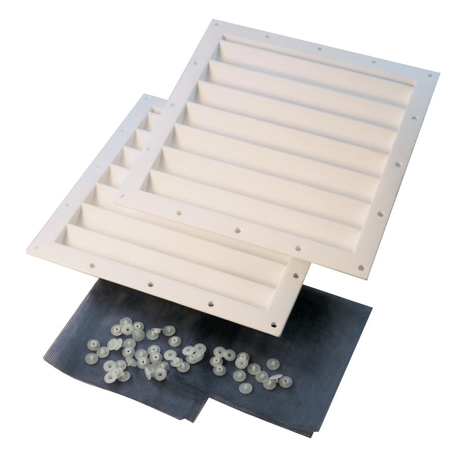 shop shelterlogic white polyurethane storage shed vent kit at
