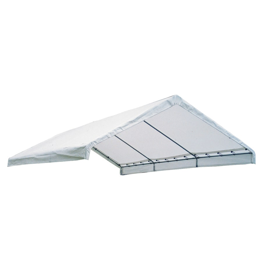 Shelterlogic Canopy Replacement Parts : Shop shelterlogic white replacement canopy top at lowes