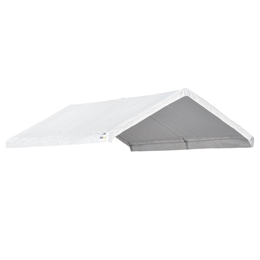 ShelterLogic 10-ft W x 20-ft L Rectangle White Aluminum Standard Canopy
