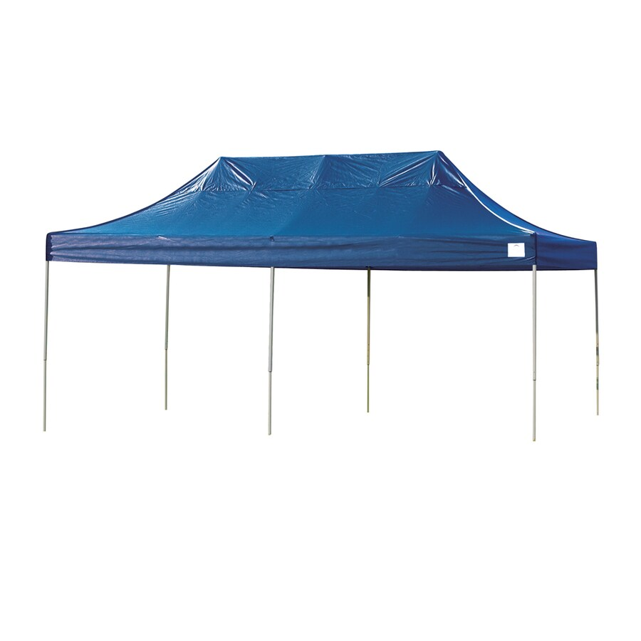 ShelterLogic 10-ft W x 20-ft L Rectangle Blue Steel