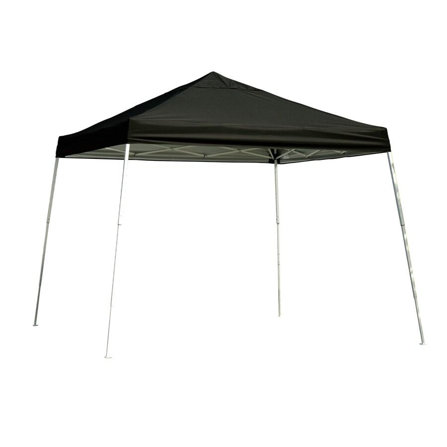 ShelterLogic 12-ft W x 12-ft L Black Steel