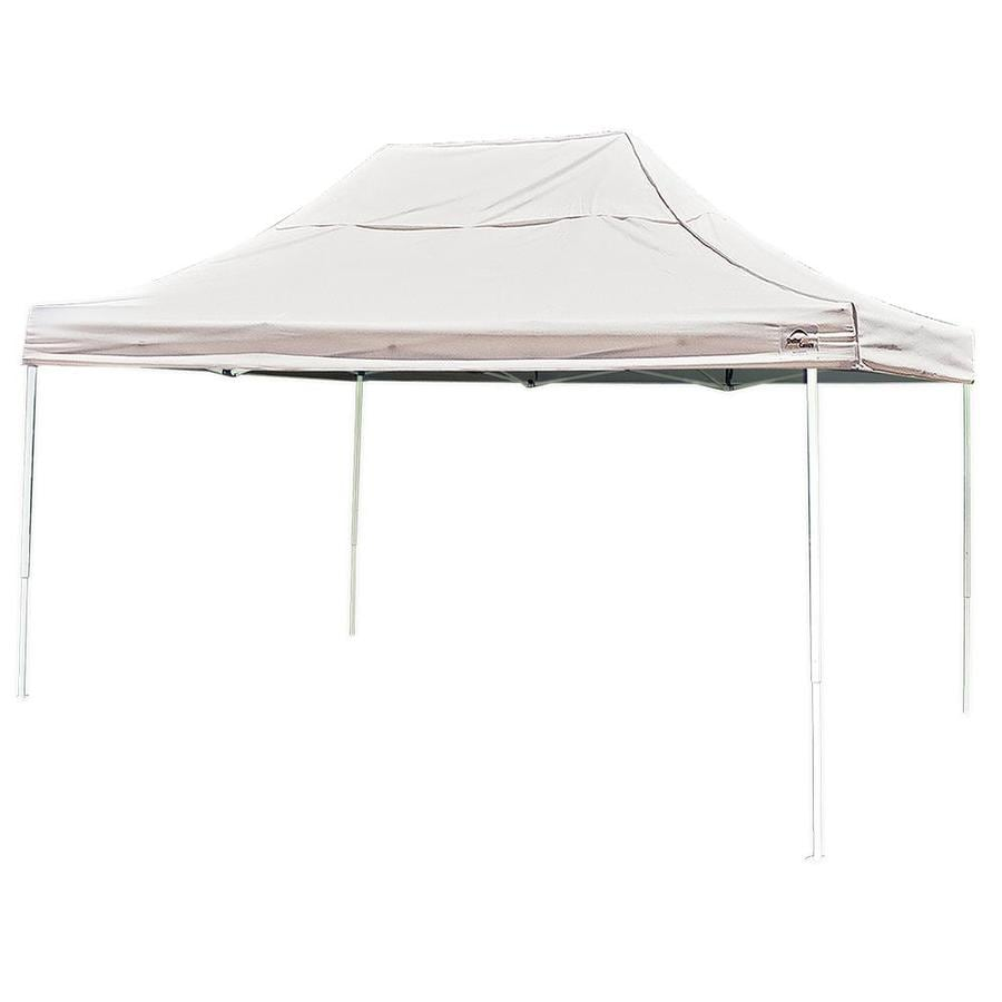 ShelterLogic 10-ft W x 15-ft L Square White Steel Pop-up Canopy