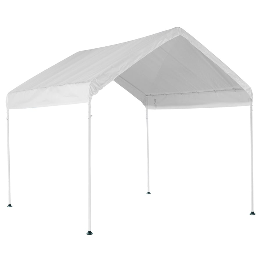 ShelterLogic 10-ft x 10-ft Polyethylene Canopy Storage Shelter
