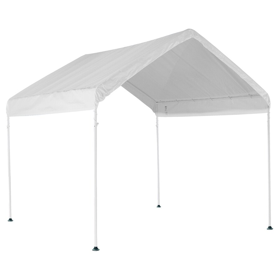 ShelterLogic 10-ft x 10-ft Polyethylene Canopy Storage Shelter  sc 1 st  Loweu0027s & Shop ShelterLogic 10-ft x 10-ft Polyethylene Canopy Storage ...