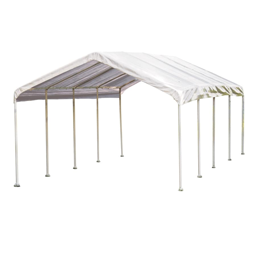 ShelterLogic 12-ft x 26-ft Polyethylene Canopy Storage Shelter