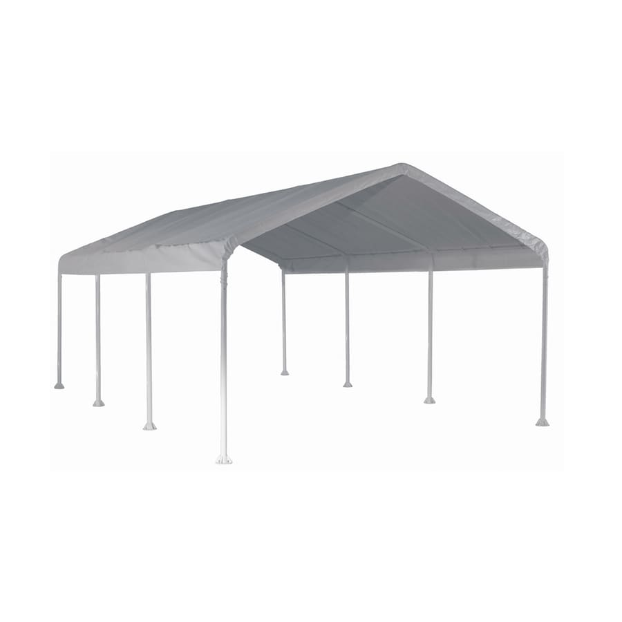 ShelterLogic 12-ft x 20-ft Polyethylene Canopy Storage Shelter