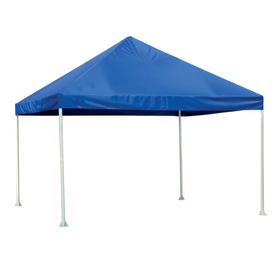 ShelterLogic 12 Ft X 12 Ft Polyester Canopy Storage Shelter