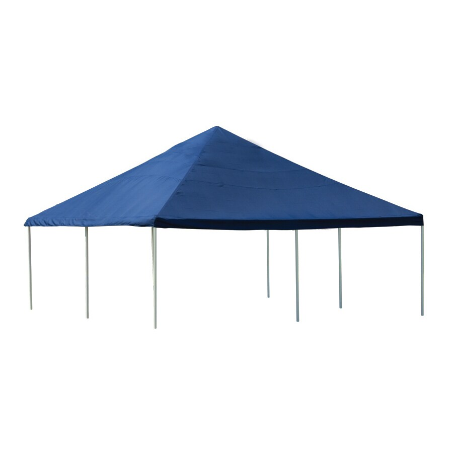 ShelterLogic 20-ft x 20-ft Polyester Canopy Storage Shelter