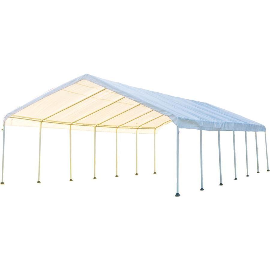 ShelterLogic 18-ft W x 40-ft L Steel Canopy