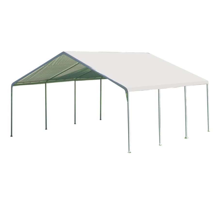 ShelterLogic 18 Ft X 20 Ft Polyethylene Canopy Storage Shelter