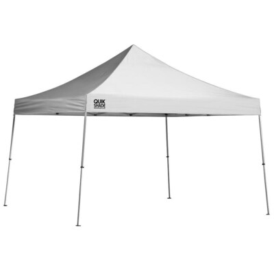 hot sales 69840 01cc3 Quik Shade 12-ft L Square White Pop-up Canopy at Lowes.com