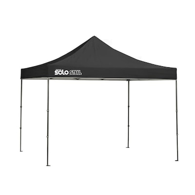 huge selection of 5a3c8 e4f5d 10.33-ft L Square Black Pop-up Canopy