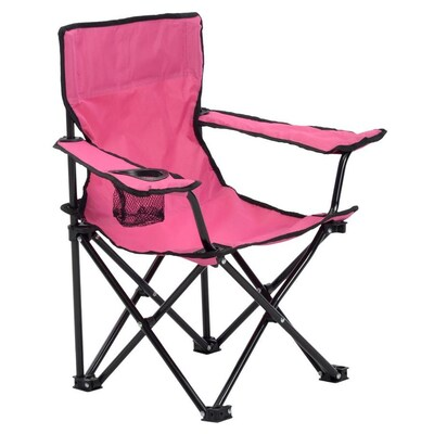 Cool Quik Shade Pink Folding Camping Chair At Lowes Com Unemploymentrelief Wooden Chair Designs For Living Room Unemploymentrelieforg