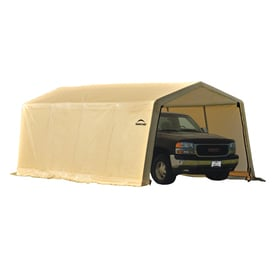 Shop canopy storage shelters at for Outdoor storage shelter