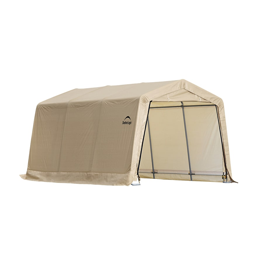 ShelterLogic 10 Ft X 15 Polyethylene Canopy Storage Shelter