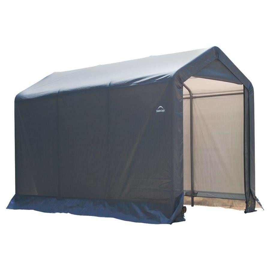Shop Shelterlogic 6 Ft X 10 Ft Polyethylene Canopy Storage