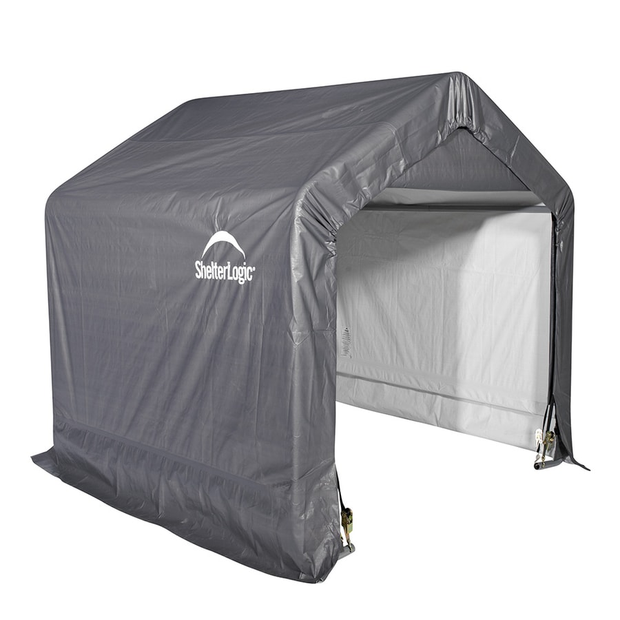 ShelterLogic 6-ft x 6-ft Polyethylene Canopy Storage Shelter  sc 1 st  Loweu0027s & Shop Canopy Storage Shelters at Lowes.com