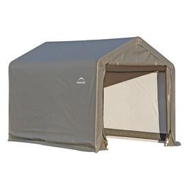 Superb ShelterLogic 6 Ft X 6 Ft Polyethylene Canopy Storage Shelter