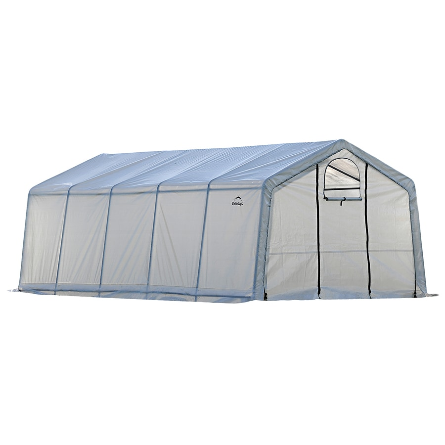 ShelterLogic Grow It 20-ft L x 12.4-ft W x 8-ft H Greenhouse Kit