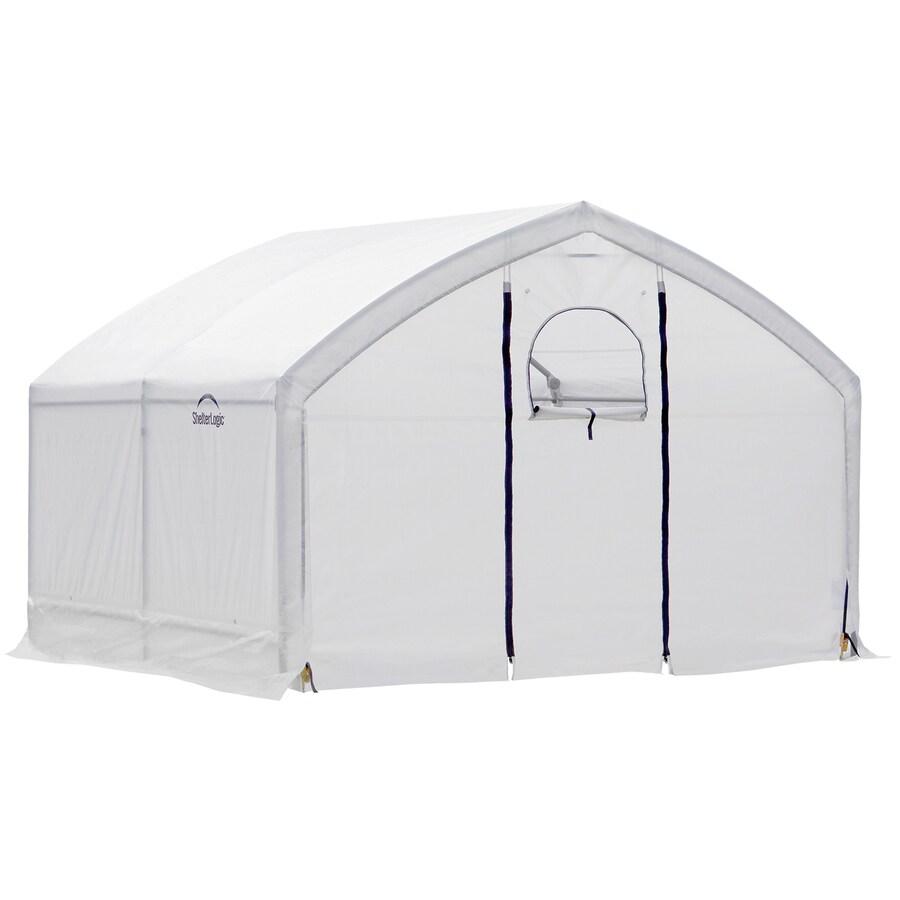 ShelterLogic Grow It 10-ft L x 12-ft W x 8.9-ft H Greenhouse Kit