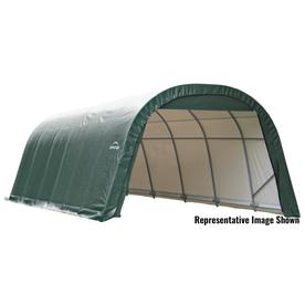 Amazing ShelterLogic 11.79 Ft X 23.88 Ft Polyethylene Canopy Storage Shelter