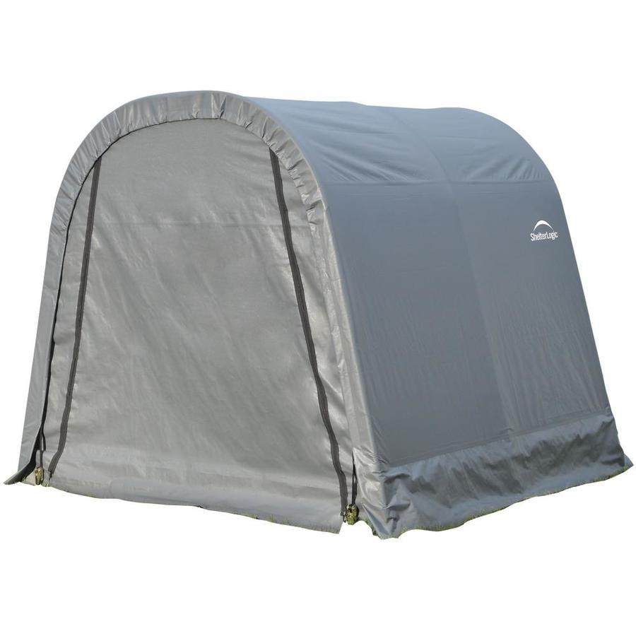 ShelterLogic 8 Ft X 8 Ft Polyethylene Canopy Storage Shelter