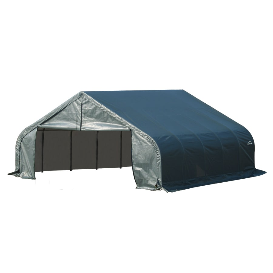 Shop Shelterlogic Common 22 Ft X 20 Ft Actual 22 Ft X